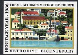 GRENADA, 1986 METHODIST CHURCH MINISHEET MNH - Grenada (1974-...)