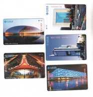 China,Beijing Scenery,password Cards,used - China