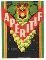 EIQUETTE APERITIF A BAS DE VIN   MANTIAUX PARIS ****   A   SAISIR     ***** - Labels