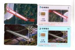 China,Taiwan Scenery,IC Cards,used - China
