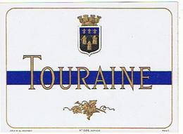 EIQUETTE   TOURAINE  DOUIN LOUNEAU  ****   A   SAISIR     ***** - Unclassified