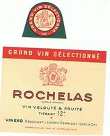 EIQUETTE   VIN ROCHELAS   A LADOIX SERRIGNY  COTE D OR ****   A   SAISIR     ***** - Bourgogne