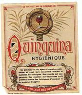 EIQUETTE   QUINQUINA  HYGIENIQUE  ****   A   SAISIR     ***** - Labels