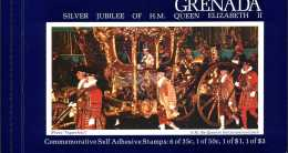 Grenade Carnet C742 Jubilee Elisabeth II** - Grenada (1974-...)
