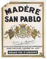 EIQUETTE MADERE SAN PABLO PEDRO Y MIGUEL  ****   A   SAISIR     ***** - Labels