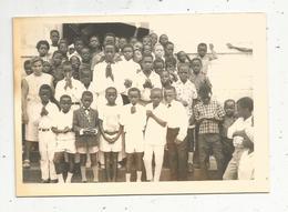 école ,photo De Classe ,photographie 13 X 9, Afrique , Enfants,institutrices - Anonymous Persons