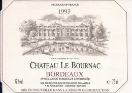 BORDEAUX  1993 CHATEAU  ROADEL LE  BOURNAC (4) - Bordeaux