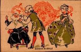 CHROMO   BARBIER DE SEVILLE..   DOS VIERGE - Trade Cards