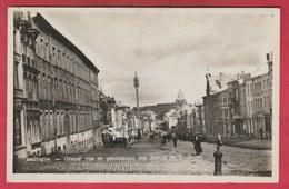 Bastogne - Grand'rue Et Pensionnat Des Soeurs De N. Dame - 1935 ( Voir Verso ) - Bastogne