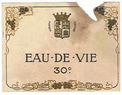 EIQUETTE  EAU DE VIE 30 ****   A   SAISIR     ***** - Labels