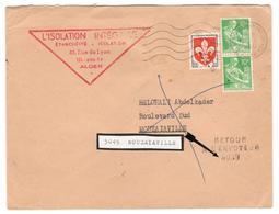 6214 - RETOUR De MOUZAIAVILLE - Covers & Documents