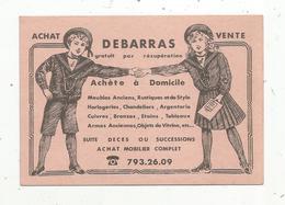 Mini Buvard , 14 X 10 , BROCANTE , Achat ,débarras ,vente , Tel : 793.26.09 (7 Chiffres) - Unclassified