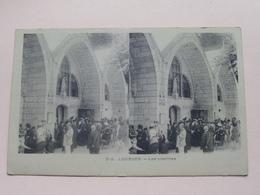 LOURDES - Les Piscines ( 212 ) Anno 19?? ( Zie Foto Voor Details ) ! - Cartes Stéréoscopiques