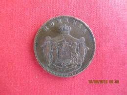 Roumanie, 10 Bani 1867 (HEATON) - Carol I, TB+ - Romania