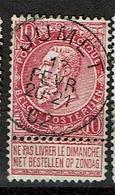 58  Obl  Jumet  + 2 - 1893-1900 Thin Beard