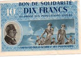 BON DE SOLIDARITE  DIX FRANCS - Denmark