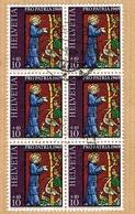 PRO PATRIA . BLOC DE 6 OBLITERE 1969 C/DES TIMBRES SUISSES Nr:B142. Y&TELLIER Nr:834. MICHEL Nr:902. - Pro Patria