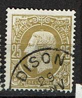 32  Obl  Dison  + 2 - 1869-1883 Leopold II