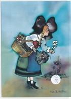 CPM GF-35503- Création Alsacienne  Collection Buerebriedel - Dessin De Astrid Roche - Illustrateurs & Photographes
