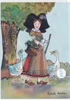 CPM GF-35504- Création Alsacienne  Collection Buerebriedel - Dessin De Astrid Roche - Autres Illustrateurs