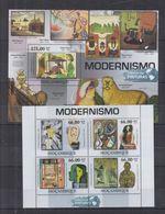 D85. MNH Mozambique Art Paintings Various Painters - Art