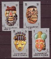 UMM AL QWAIN - MASQUES - 1971 - YT - Oblitérés - - Cultures
