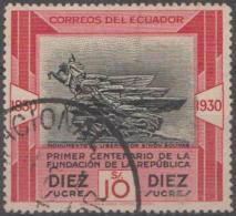 ECUADOR - 1930 Centenary (top Value). Scott 316. Used - Ecuador