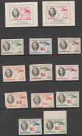 ECUADOR - 1949 Unofficial President Roosevelt, Set? Plus Two Souvenir Sheets. Mint - Ecuador