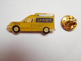 Beau Pin's , La Poste , Epône , Auto Renault , Yvelines - Post