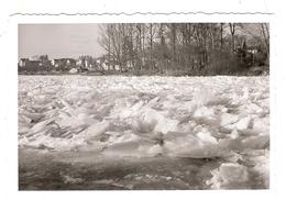 Photo Photographie Meaux Alentours Environs De Marne Gelée Certainement 1956 - Luoghi