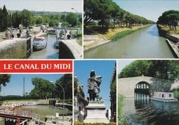 Le Canal Du Midi - Vues Diverses - Languedoc-Roussillon