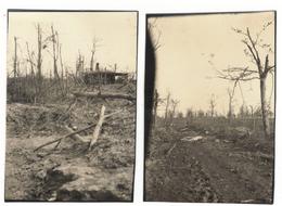 Lot De 2 Photos Allemande AVOCOURT Mai 1916 - 1914-18