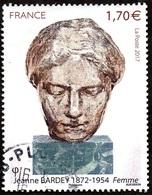 France Oblitération Cachet à Date N° 5154 Jeanne Bardey « Femme » - Used Stamps