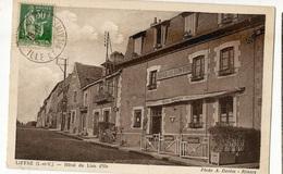 CPA , D.35, Liffré , ( I Et V. ) ,Hôtel Du Lion D' Or , Ed. Phot. A. Donias - Other Municipalities