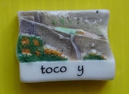 Fève Perso  2010 - Mazas Foix ( Ariège ) - Le Château -  Toco Y  - 5/6 Inscrit Au Dos - Voir Photo Du Puzzle - Regions
