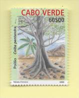 TIMBRES - STAMPS - CAPE VERDE / CAP VERT - 2004 - ARBRES INDIGÈNES -  Ceiba Pentandra - TIMBRE OBLITÉRÉ - Cap Vert