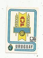 Vignette Autocollante,  FIGURINE PANINI , N° 215 , Coupe Du Monde , MÜNCHEN 74, URUGUAY , 2 Scans - Panini