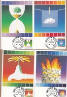 Australia Maxicards 1985 Conservation - Set 4 FDI - Maximum Cards