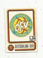 Vignette Autocollante,  FIGURINE PANINI , N° 113 , Coupe Du Monde , MÜNCHEN 74, DEUTSCHLAND-DDR , 2 Scans - Panini