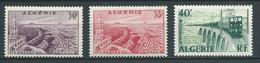 ALGERIE 1956/58 . N°s 339 , 339A Et 340 . Neufs **  (MNH) - Unused Stamps
