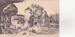 CPA -  14 - BRANTOME Anciennes Tours D'ensemble....murs Et Porte Supprimés En 1870 - Brantome