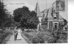 JOUAC   Château De PEU - France