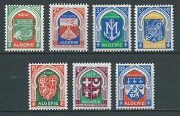 ALGERIE 1956/58 . Série N°s 337 à 337F . Neufs **  (MNH) - Algeria (1924-1962)