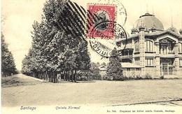 SANTIAGO - Quinta Normal - N°748  Ed. Adolfo Conrads - Chili