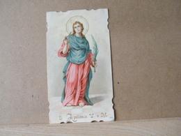 MONDOSORPRESA, (ST236) SANTINO, SANTINI,  SANTA APOLLONIA,PRIMI 900 - Imágenes Religiosas