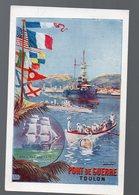 Toulon (83 Var) Image Témoignage De Satisfaction PORT DE GUERRE (format CPA) (PPP14441) - Old Paper