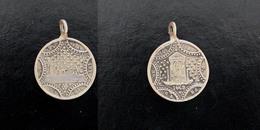 Médaille Religieuse. Apparition Mariale. Notre Dame De L'osier 1649. - Religion & Esotérisme