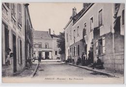 Ahuillé - Rue Principale - Boucherie - Epicerie - Hôtel - France