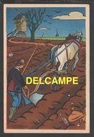 DD / ILLUSTRATEURS / RÉMY HÉTREAU / LE LABOUREUR (1943) / CARTE VENDUE AU PROFIT DU SECOURS NATIONAL - Illustrators & Photographers