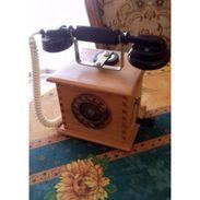 TELEPHONE ANCIEN ** Type MARTY 1917 ** Objet De Décoration - Restauré - - Téléphonie